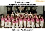 Vocals On Air präsentiert singende Frauen und Mädchen  – Folge 6
