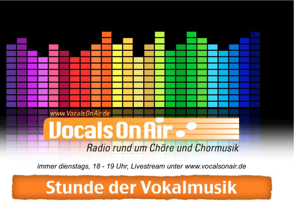 Neue Sendung bei Vocals On Air: Stunde der Vokalmusik