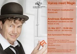 Voices meet Magic - flyer