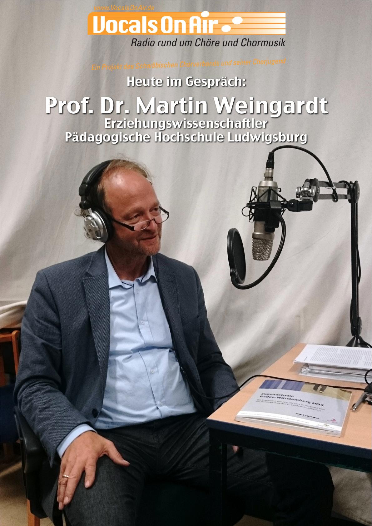 wie ticken jugendliche vocals on air im interview mit prof dr martin weingardt ph. Black Bedroom Furniture Sets. Home Design Ideas
