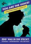 YOU ARE THE VOICE – Männerstimmen für Chorprojekt gesucht!