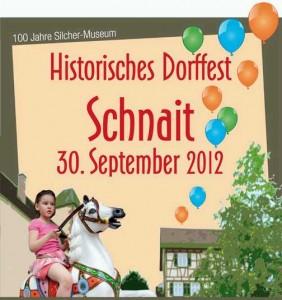 Historisches Doffest in Schnait zum Jubiläum des Silcher-Museums