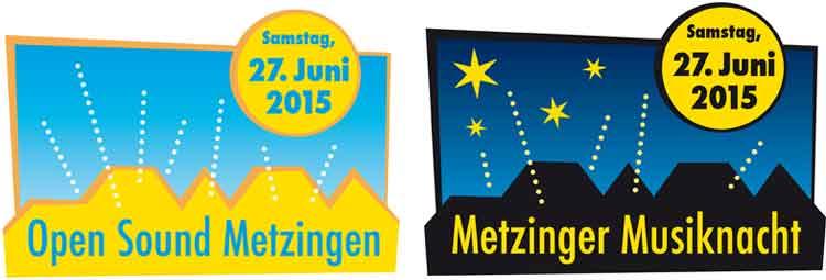 Programm für das Festival Open Sound am 27. Juni in Metzingen