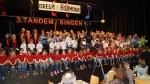 Auch das dritte Tandem-Singen hat sich in der Ertinger Kulturhalle wieder zu einem wahren Chorspektakel entwickelt