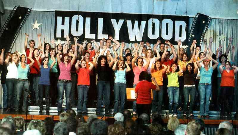 Roter Teppich für die OscarMelodien › Singen und Stimm